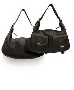 Vera marrone marrone pelle 4x Unicorno marrone marrone borsa chiaro Nero Womens Ladies London nero in qnY00tOSf