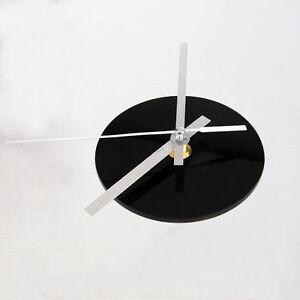 schwarz quarz wanduhr uhrwerk mechanism 3 wei zeiger diy ersatzteile set. Black Bedroom Furniture Sets. Home Design Ideas