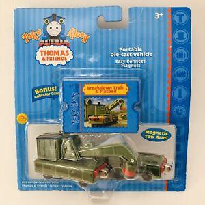 Thomas-Take-Along-Breakdown-Train-amp-Flatbed-Die-Cast-Metal-2004-Sealed