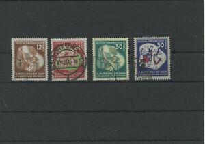 Germany-GDR-vintage-yearset-1951-Mi-289-292-Postmarked-Used-More-Sh-Shop-1