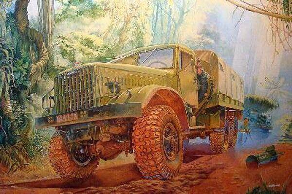CAMION SOVIETIQUE KrAZ-214B, 1962 - KIT RODEN 1 35 n° 804