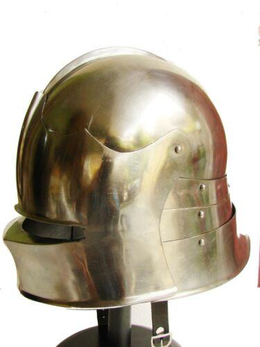 German Helmet Armor For Sale Larp Armor Sca Armor Halloween Dress Sallet Helmet