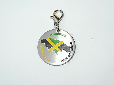 Jamaica Jamaican Shaped Pet ID Tag