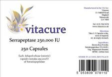 ** 4 for 3* 250 DELAYED RELEASE 250000iu SERRAPEPTASE CAPSULES SUPERSTRONG