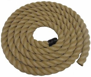 MTS X MM THICK FOR GARDEN DECKING ROPE POLY HEMP HEMPEX - Garden decking rope