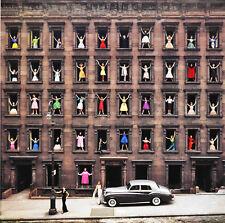 "Girls in the Windows, New York City, 12 x 12"" Photo Print"