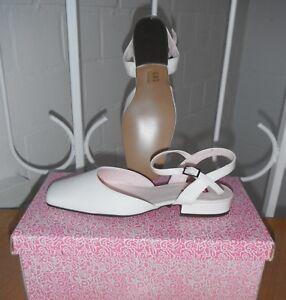 release info on 25e19 e3a27 Details zu BRAUTSCHUHE / Schuhe Pumps von PINK PARADOX LONDON (Gr. 37) weiß  flach - NEU !!!