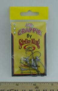 Strike King MRCJH132-U Mr Crappie Jig Head 1/32 oz. UnPainted 8CT 26890