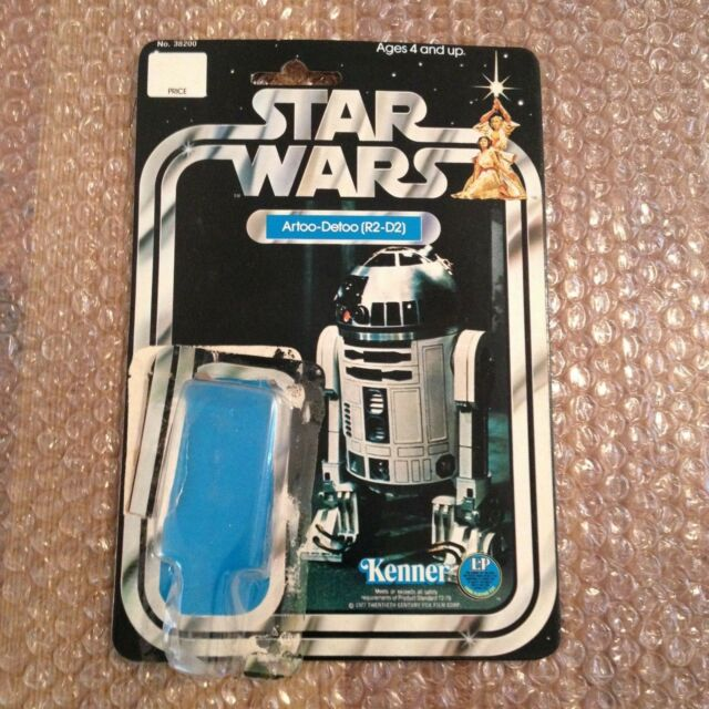 Star Wars Vintage Kenner R2-D2 SW-12A Card Back SW 12 A Backing 1977 First 12 A!