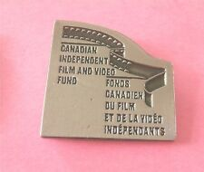 Canadian Independent Film & Video Fund - Fonds Canadien du Film Lapel Pin