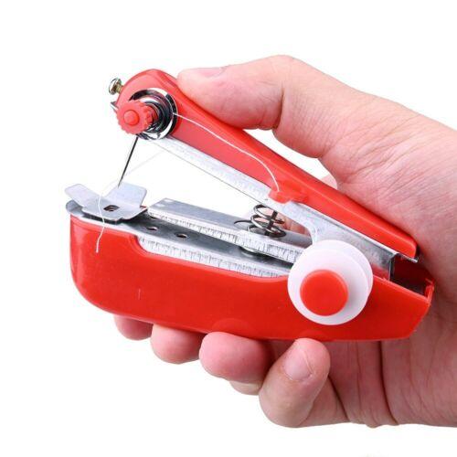 Anpro Tragbare Mini-Hand Nähmaschine Schnell Stich Einfache Bedienung Nähen