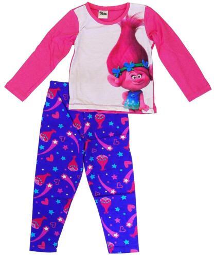 Girls Dreamworks Trolls Poppy Shooting Star Long Pyjamas 12 Months to 6 Years