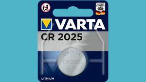 Akkus & Batterien Vornehm 25 X Varta Cr2025 Cr 2025 6025 3v Lithium Knopfzelle Blister Batterien äRger LöSchen Und Durst LöSchen