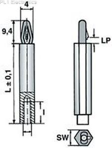 ETTINGER-06-84-356-Distanzscheiben-35-M4-1-8P-Preis-Fuer-4
