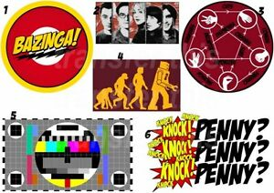 Boys' Clothing (2-16 Years) Big Bang Theory Sheldon Lot Bazinga Iron On Transfer Or Sticker Kitty &more! Making Things Convenient For The People