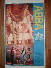 ABBA  PROMO vintage POSTER INDIA ULTRA RARE POLYDOR CAMPA COLA ADVERTISEMENT