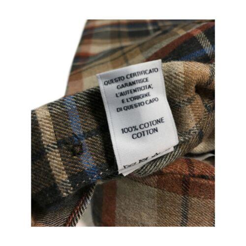 Or Nicola coton Be52101 Flanelle Chemise 100 Beige Homme gris Brancaccio Bd vXn07x