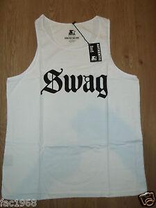 Genuine Starter Trickskool Tee T-Shirt Top White Crew Neck Cotton New BNWT