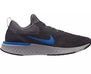 0079cd21d118 NEW Sz 7 Nike Odyssey React Running Shoe Thunder Grey Blue AO9819 ...