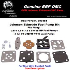 Fuel Pump Repair Kit Johnson 600-125-04 0393088 Evinrude 3-15 Hp