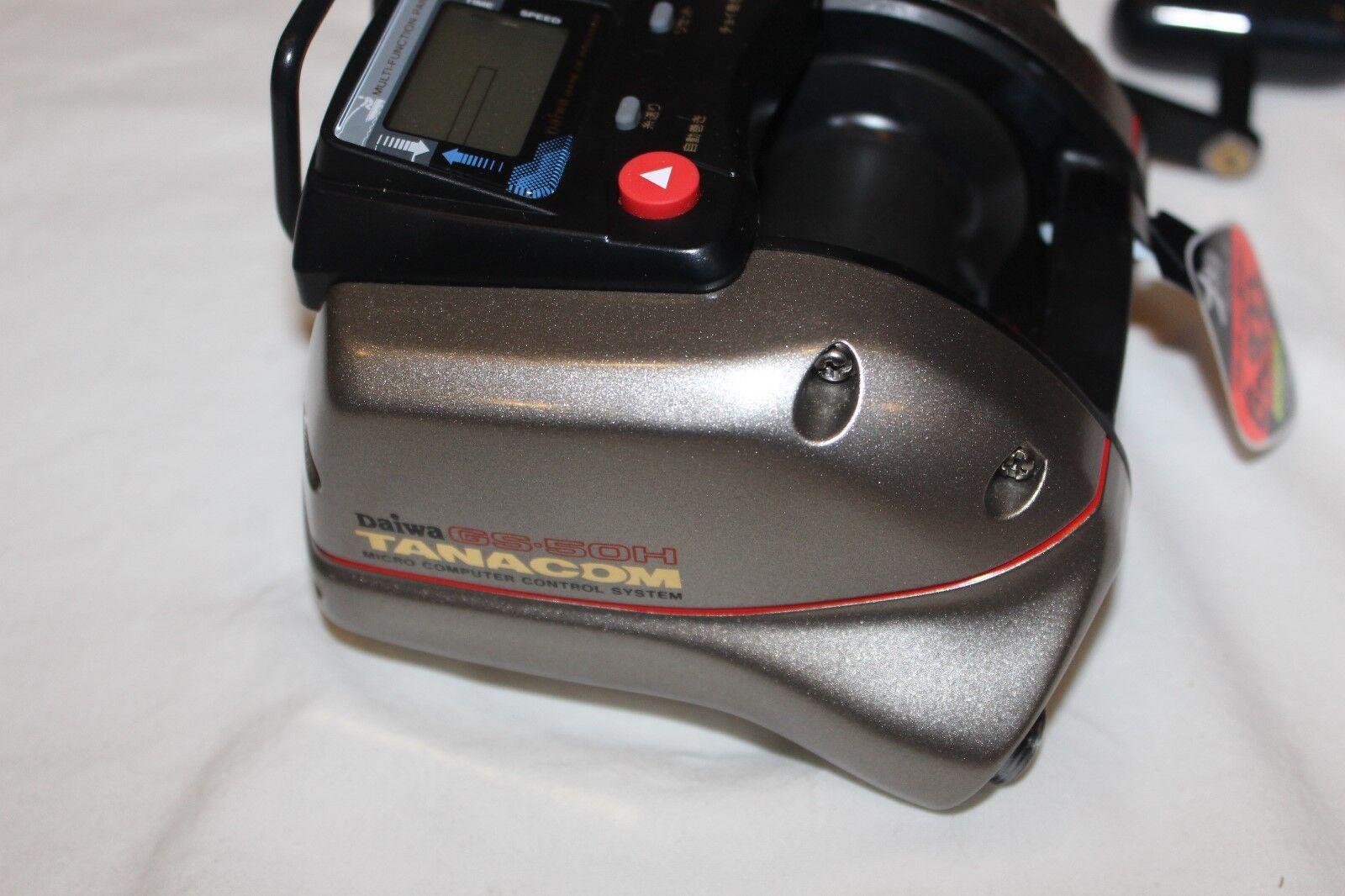 DAIWA TANACOM GS-50-H-ELEKTROROLLE-NEU IM IM GS-50-H-ELEKTROROLLE-NEU OVP-MADE IN JAPAN-Nr 862 59147e