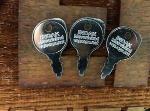 3 lawn tractor keys fits INDAK Toro,Murray,Sears,Cub Cadet,John Deere M40718