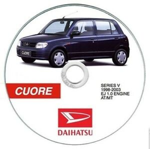 daihatsu cuore manuale officina workshop manual ebay rh ebay co uk Daihatsu Pakistan Official Website Daihatsu Cuore 2013