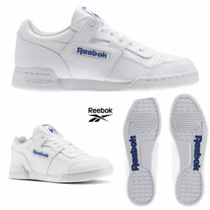 Reebok-Classic-Workout-Plus-Runner-Leather-Shoes-White-2759-SZ-4-12