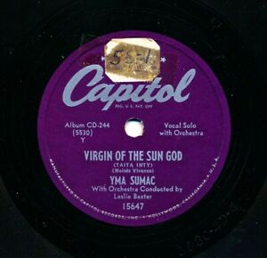 YMA-SUMAC-1950-Capitol-15647-Virgin-of-the-Sun-God-Lure-of-the-Unknown-Love