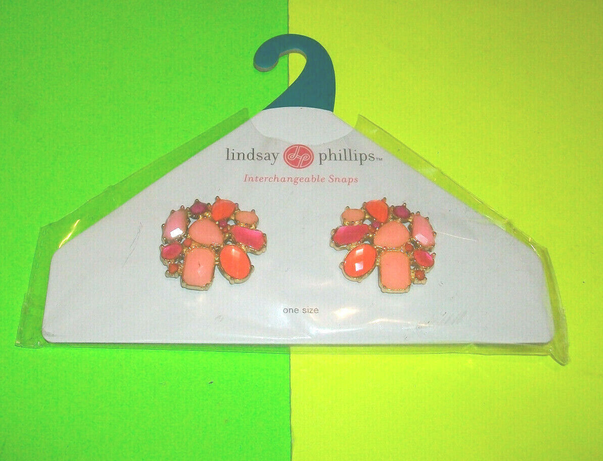 ⭐NEW⭐ LINDSAY PHILLIPS JOANIE INTERCHANGEABLE SHOE SNAPS JEWELRY CHARMS SNAP007