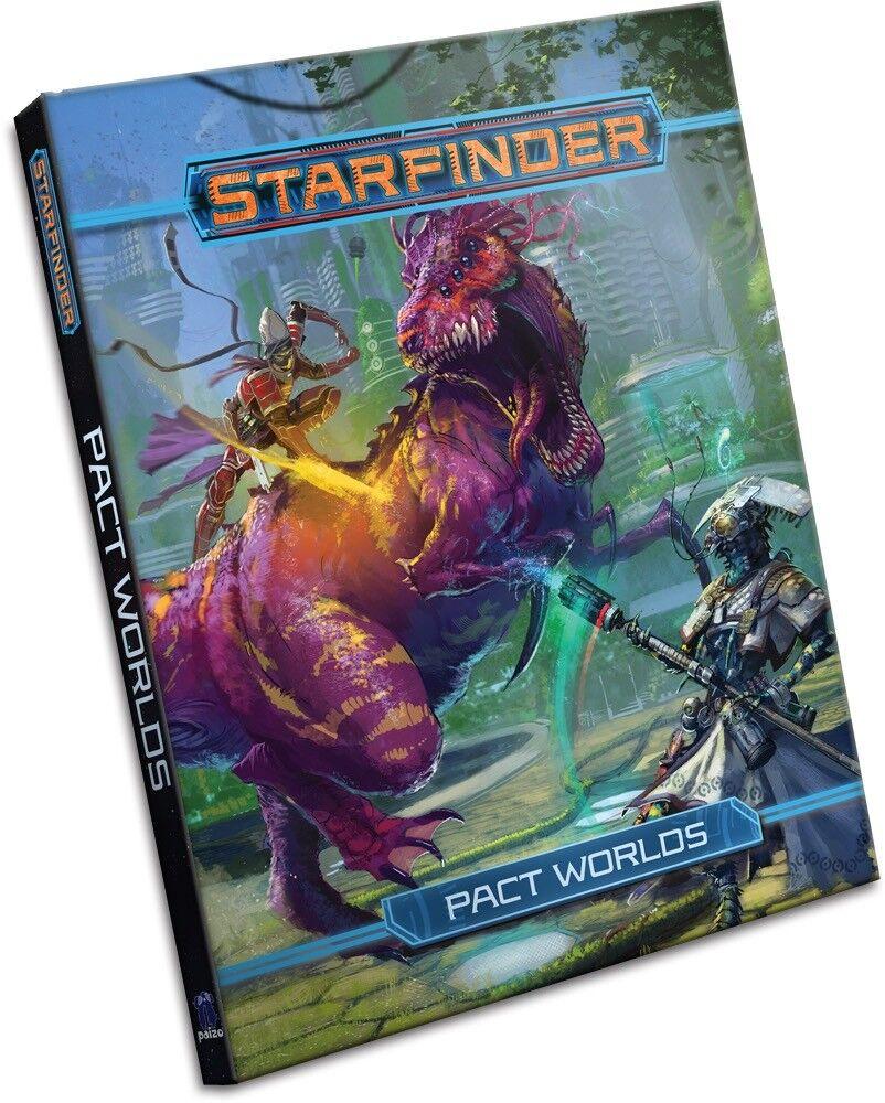2018 Paizo Starfinder Roleplaying Game  Starfinder Pact Worlds