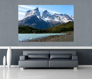 Self-Adhesive-Giant-Maxi-Poster-Awesome-snow-capped-mountain-view-PP019