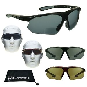 8fa16adc13f6 Image is loading Bifocal-Sun-Reader-Sunglasses-Cycling-Motorcycle-Reading -Glasses-