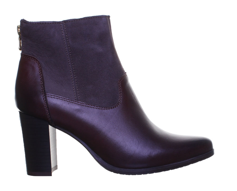 Justin Pointed Reece Sock Style Pointed Justin Block Heel Ankle Boot Größe Uk 3 - 8 083f83