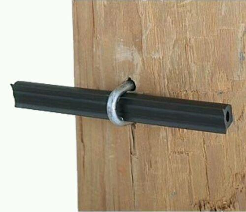 Clôture électrique Insultube Tube Isolant 100 x 100 mm sections pièce