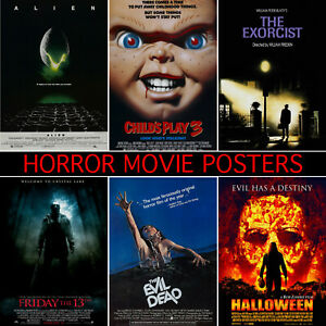 Halloween movie Poster A5 A4 A3