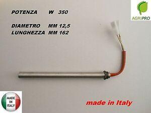 candeletta accensione stufa pellet resistenza 12 5 x 160