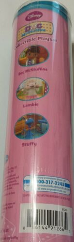 Doc Mcstuffins Collectible 3 Piece Playset Doc Lambie Stuffy
