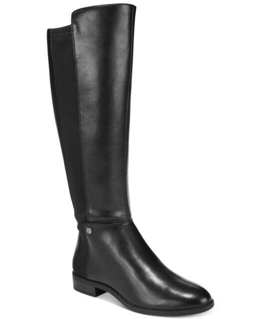 Alfani Pippaa Mujeres botas de montar, 5 M (negro)