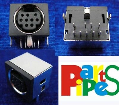 1pcs 9-Pin 9P DIN Right Angle Pin Panel Mount Solder Type Audio Video Connector