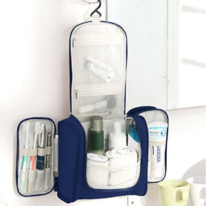 Image is loading Hanging-Toiletry-Bag-Large-Kit-Folding-Makeup-Organizer- f4d794d3fea9f
