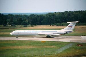 Orig.Aircraft Slide Aeroflot IL-62 RA-86520