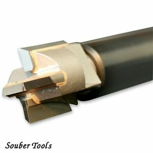Souber CWB20 20.0 mm Remplacement Carbide Tipped wood cutter pour serrure à mortaise Gabarit