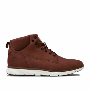 Details about Mens Timberland Killington Chukka Boots In Brown Lace Fastening Sensorflex