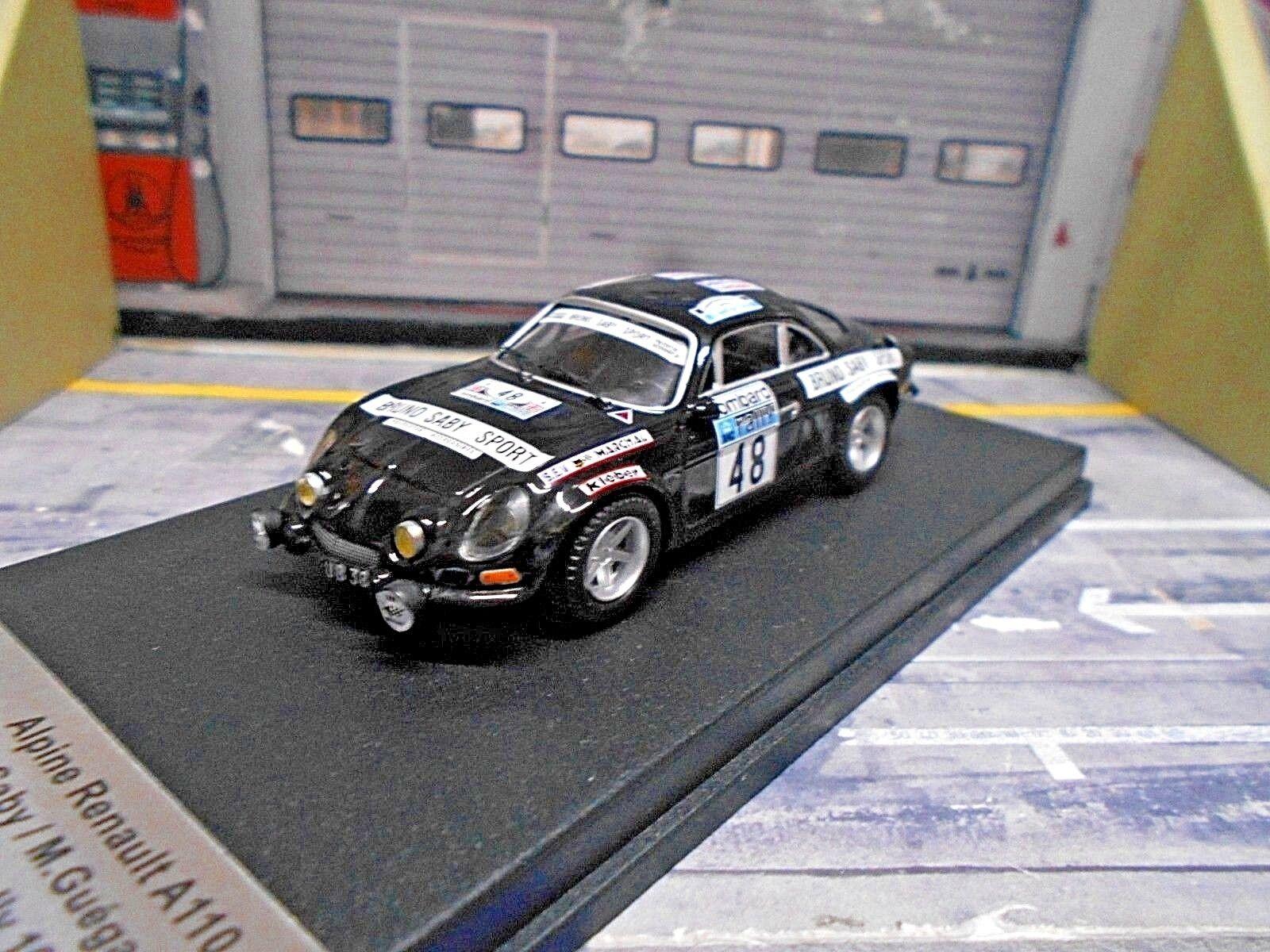 RENAULT Alpine A110 Rallye RAC GB 1978  48 Saby RRuk 03 Edition Trofeu 1 43