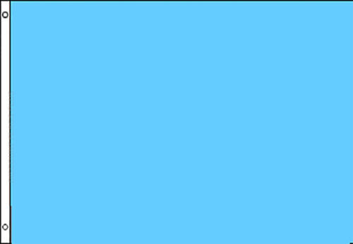 LIGHT BLUE Solid Color Flags 3x5 Polyester