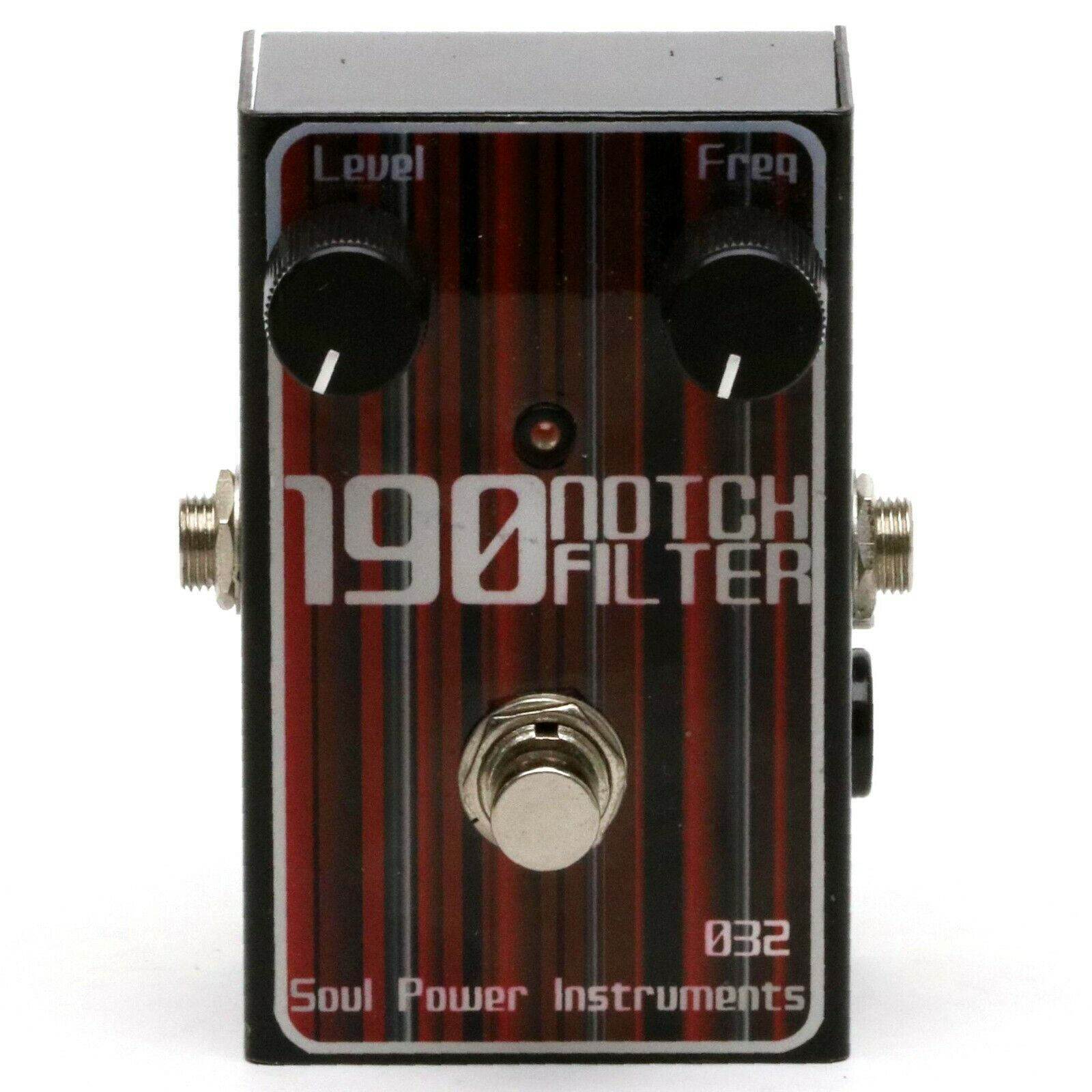 Soul Power Instrument 190 NOTCH FILTER IKUO Signature Model Bass Effect Pedal