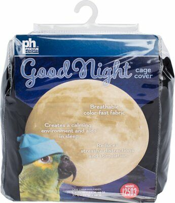 Large Prevue Hendryx Pet Products Universal Bird Cage Cover New Black