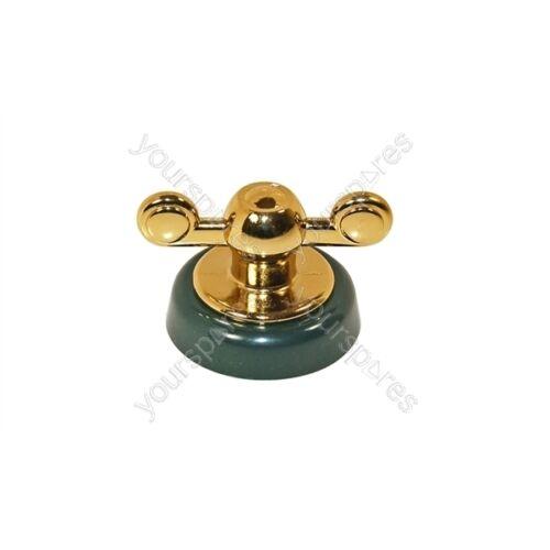 Genuine Hotpoint Creda Green /& Gold Hob Control Knob Assembly