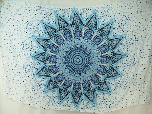 *US SELLER*lot of 5 boho gypsy mandala star sarong hippie tapestry wall hanging
